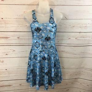 Jr Girls Alice and Wonderland Unique Dress